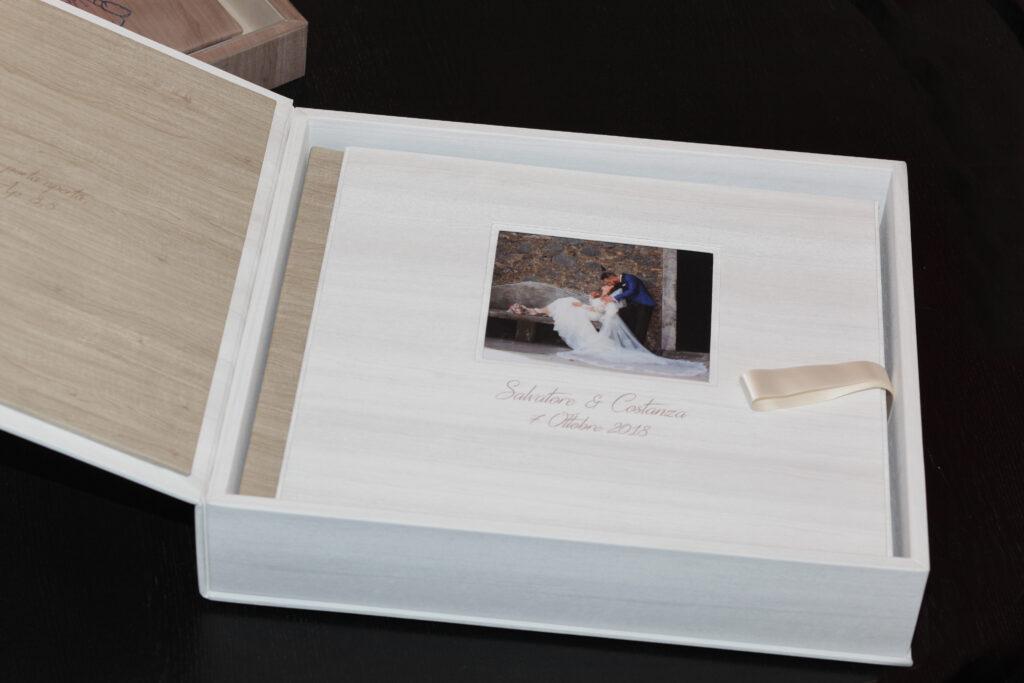 Gabriele Maricchiolo studio fotografico servizi fotografici personalizzati con album libro e box